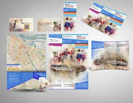 nº 15 pour Create city-map brochure design for hotel customer service + branding par mamem