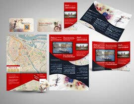 nº 16 pour Create city-map brochure design for hotel customer service + branding par mamem