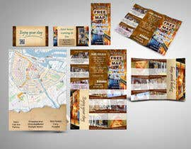 nº 22 pour Create city-map brochure design for hotel customer service + branding par mamem