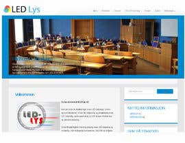 #28 for Design a logo for the web-site www.ledlys-as.no by chandi2398