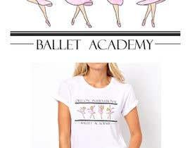 #18 for Ballet T shirt af reginaelvina