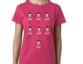 #21 for Ballet T shirt af rcoco
