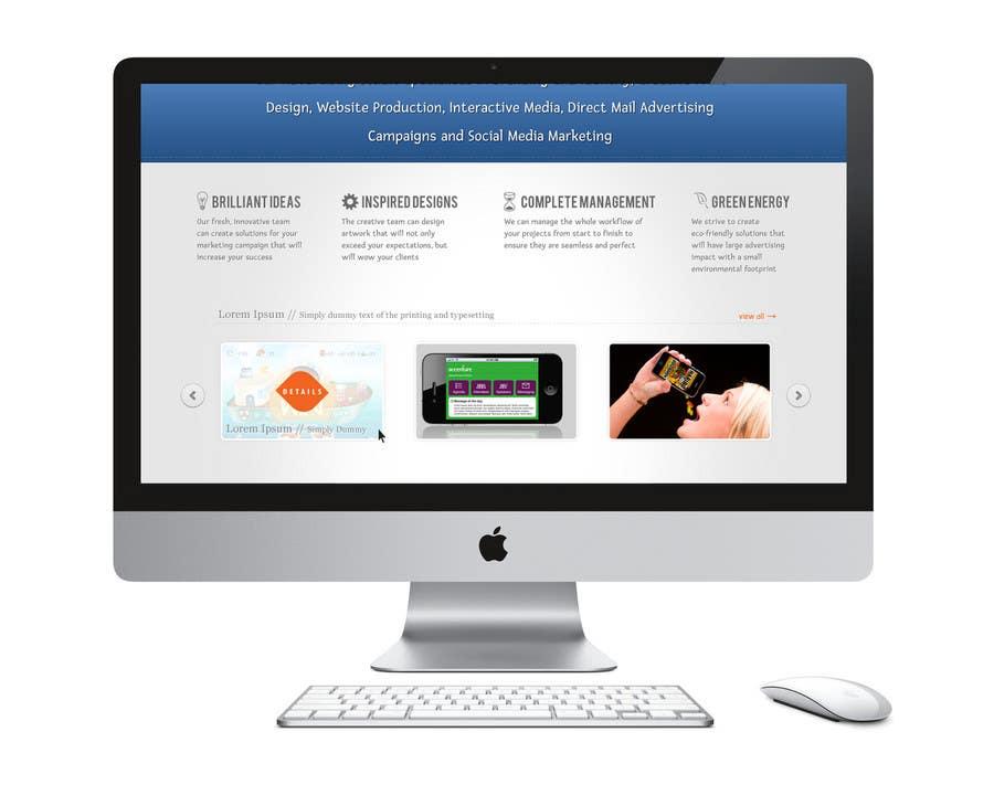 Inscrição nº                                         7                                      do Concurso para                                         Wordpress Theme Design for Blue Baboon Advertising