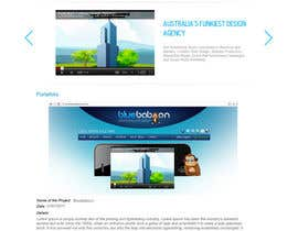 #72 for Wordpress Theme Design for Blue Baboon Advertising by infocuspro