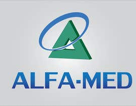 #39 para Design a logo for Alfamed por farih100