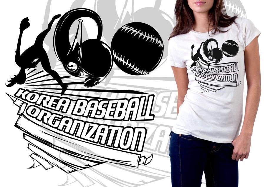 #17 for Design a T-Shirt for a Korean baseball website by mckirbz