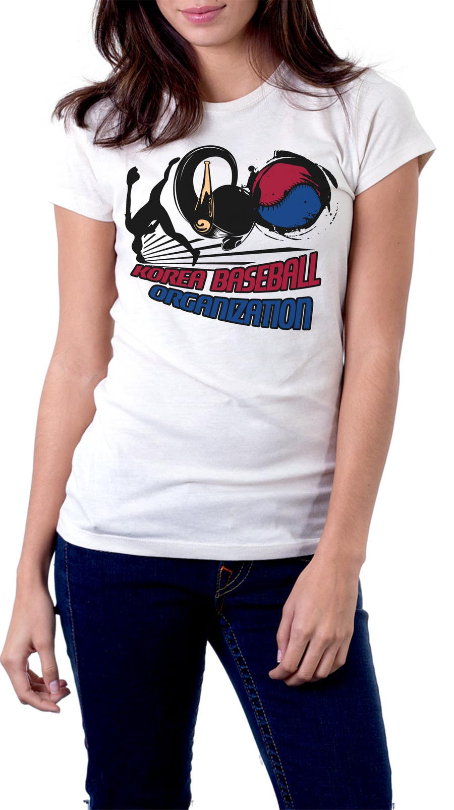 #18 for Design a T-Shirt for a Korean baseball website by mckirbz