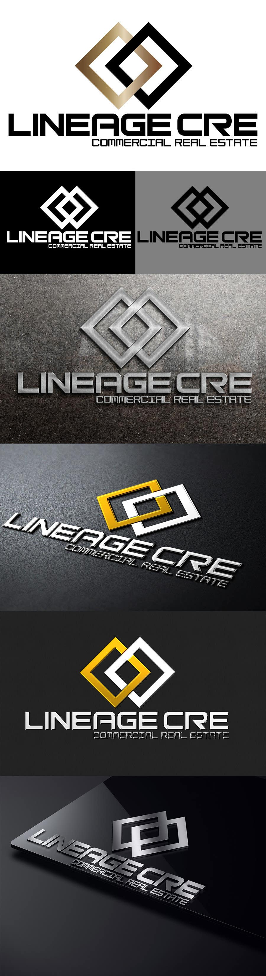 #10 for Design a Logo for Lineage CRE by rogeriolmarcos