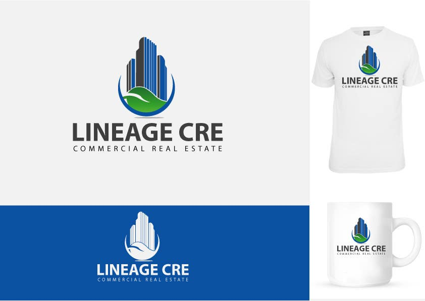 #116 for Design a Logo for Lineage CRE by brandmaker2007