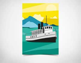 #10 for Design retro travel poster af YMteam