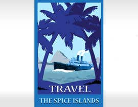 #23 para Design retro travel poster por pupster321