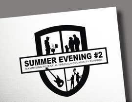#169 for Design a Logo for a community school event (Summer Evening #2) by porderanto
