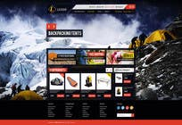 Graphic Design Entri Peraduan #7 for Design a Website Mockup for Ledge Sports