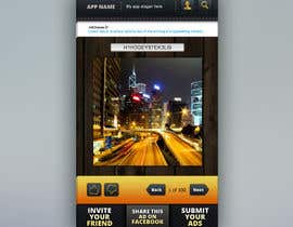 nº 9 pour Design an App Mockup for a HTML 5/Android/Iphone/Blackberry Application par ANALYSTEYE