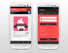 nº 12 pour Design an App Mockup for a HTML 5/Android/Iphone/Blackberry Application par reginayanzon