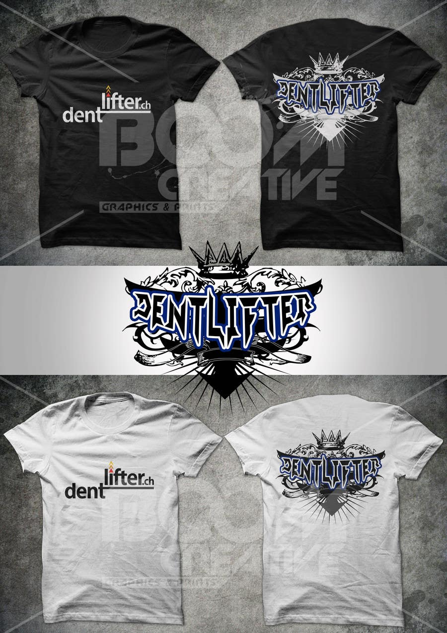 #12 for T-Shirt design for dentlifter by armanlim