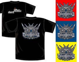 #19 for T-Shirt design for dentlifter af kingryanrobles22