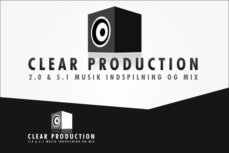 "Contest Entry #                                        1103                                      for                                         Logo Design for ""CLEAR PRODUCTION"" - Recording a mixing studio in Copenhagen"