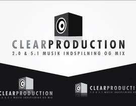 "#1104 untuk Logo Design for ""CLEAR PRODUCTION"" - Recording a mixing studio in Copenhagen oleh marcoartdesign"