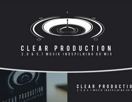 "#795 untuk Logo Design for ""CLEAR PRODUCTION"" - Recording a mixing studio in Copenhagen oleh marcoartdesign"