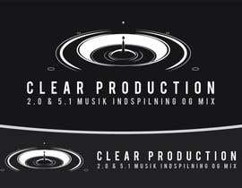 "nº 873 pour Logo Design for ""CLEAR PRODUCTION"" - Recording a mixing studio in Copenhagen par marcoartdesign"