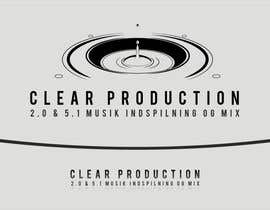 "#1197 cho Logo Design for ""CLEAR PRODUCTION"" - Recording a mixing studio in Copenhagen bởi marcoartdesign"