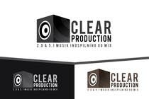 "Graphic Design Contest Entry #1193 for Logo Design for ""CLEAR PRODUCTION"" - Recording a mixing studio in Copenhagen"