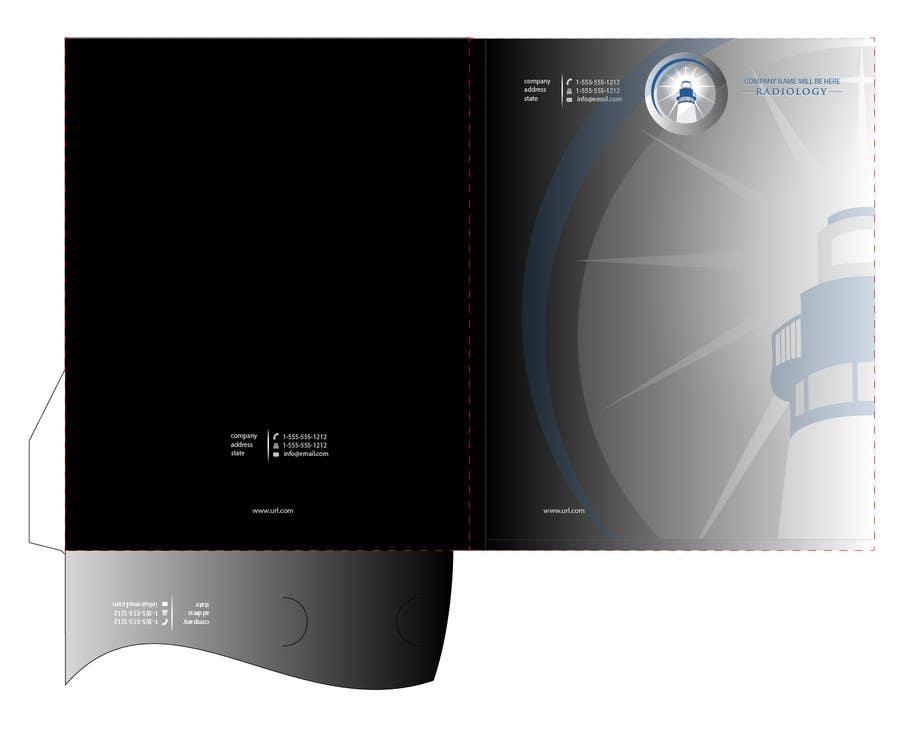 Inscrição nº                                         7                                      do Concurso para                                         Design a presentation folder for medical imaging company
