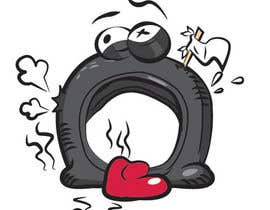 #24 cho Car Tire Character bởi Xense
