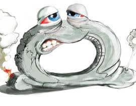 #23 cho Car Tire Character bởi AlexanderWelsh73