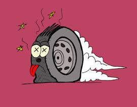 #20 cho Car Tire Character bởi erikalogiudice