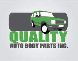#1 para Design a Logo for Quality Auto Body Parts Inc. por dannnnny85