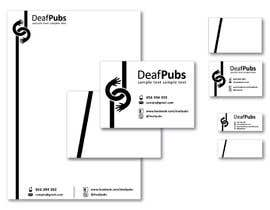 #9 for Design some stationary for Deaf Pubs af AnaKostovic27