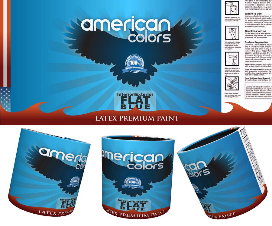 Contest Entry #35 for Professional Paint Label