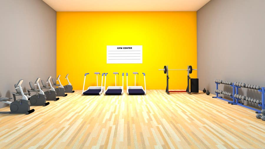 Entry #4 by Fabiolevy for Design a GYM green screen