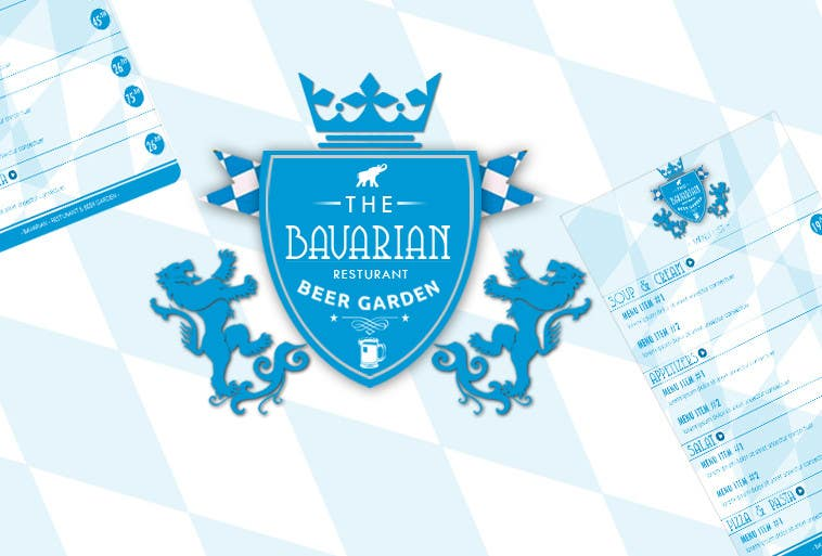 #33 for Design a Menu and Business Card for a Bavarian Restaurant and Beer Garden by SubodhStha