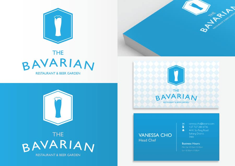 #26 for Design a Menu and Business Card for a Bavarian Restaurant and Beer Garden by Jgarisch12