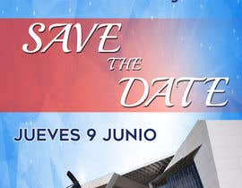 #88 for Diseño de un Save the Date para evento de aniversario by gerardoargenis