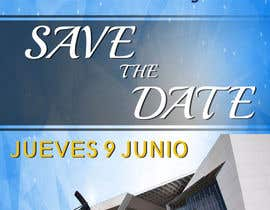 #90 for Diseño de un Save the Date para evento de aniversario by gerardoargenis