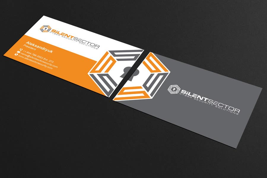 Entry 21 By Mamun313 For Business Cards And Ppt Template For Cyber