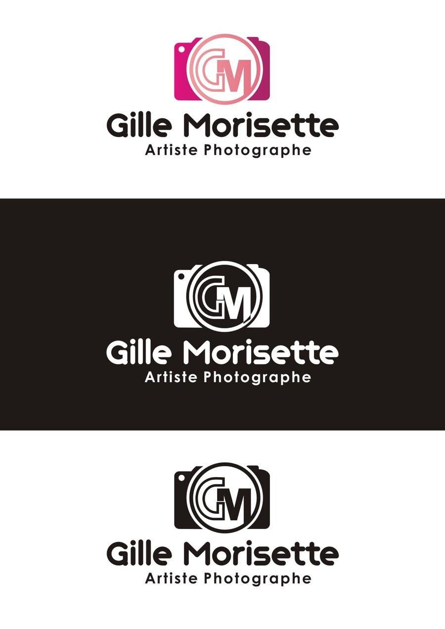 Proposition n°                                        20                                      du concours                                         Concevez un logo Gille Morisette Artiste Photographe