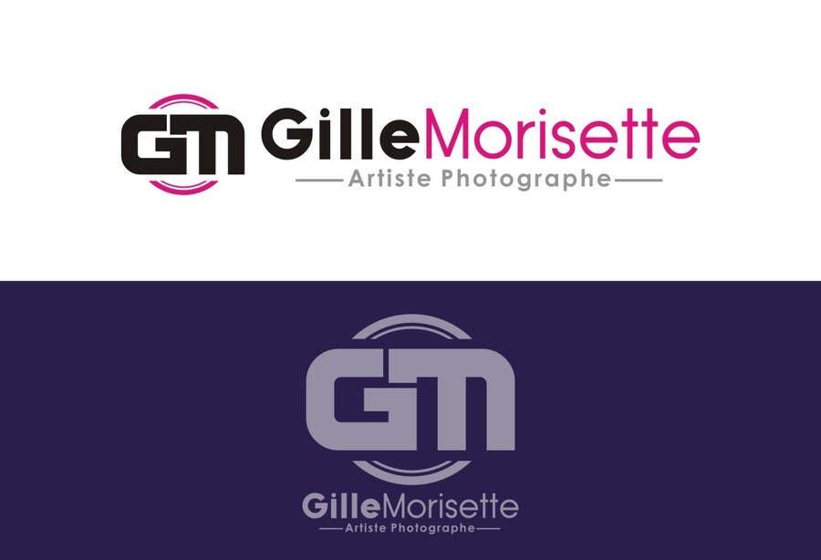 Proposition n°                                        24                                      du concours                                         Concevez un logo Gille Morisette Artiste Photographe