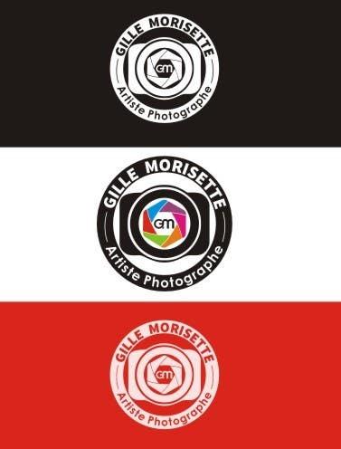 Proposition n°                                        34                                      du concours                                         Concevez un logo Gille Morisette Artiste Photographe