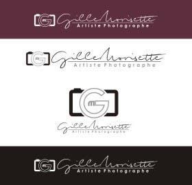 Proposition n°                                        36                                      du concours                                         Concevez un logo Gille Morisette Artiste Photographe