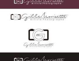 nº 36 pour Concevez un logo Gille Morisette Artiste Photographe par Graphicpub