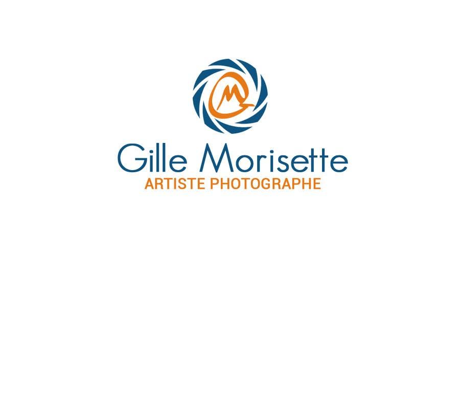 Proposition n°                                        19                                      du concours                                         Concevez un logo Gille Morisette Artiste Photographe