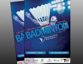 #7 для Design A Badminton Tournament Poster от dgnGuru