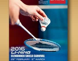 #4 для Design A Badminton Tournament Poster от linokvarghese