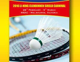 #5 для Design A Badminton Tournament Poster от linokvarghese