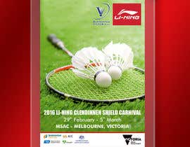 #9 для Design A Badminton Tournament Poster от linokvarghese